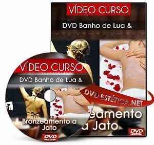 DVD de Banho de Lua & Bronzeamento a Jato