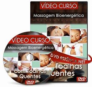 Vídeo aula de Massagem com Toalhas Quentes