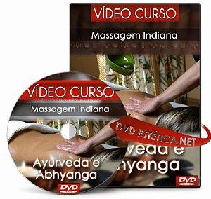 Vídeo aula de Massagem Indiana Ayurveda e Abhyanga