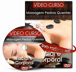 Vídeo aula de Massagem com Pedras Quentes