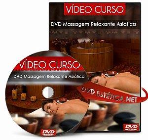 Vídeo aula de Massagem Relaxante Asiática