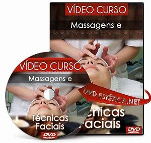 Vídeo aula de Massagens e Técnicas Faciais