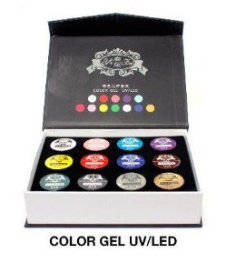 Gel colorido para nail Art