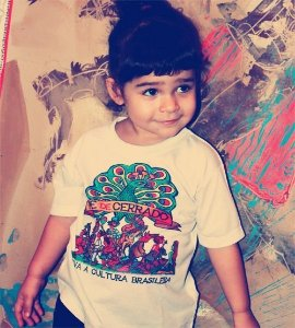 Camiseta Infantil Estampa 02