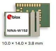 Módulo WiFi, Bluetooth clássico, BLE (Bluetooth Low Energy) com antena integrada NINA-W152
