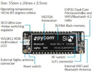 Módulo Pycom SiPy: integra Sigfox, WiFi e Bluetooth no mesmo item