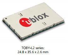 Modem 4G cat4 + 3G pentaband + 2G quadband - TOBY-L280
