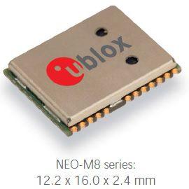 GNSS com Automitve Dead Reckoning (ADR)  (posição mesmo sem sinal do satelite) NEO-M8L