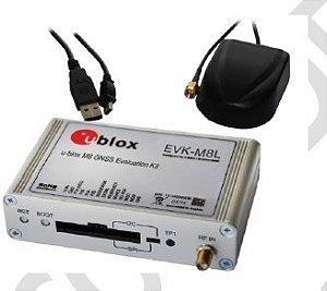 Kit de desenvolvimento GNSS com Automotive Dead Reckoning (ADR) (posição mesmo sem sinal do satelite) para NEO-M8L- EVK-M8L