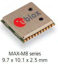 Receptor GNSS GPS Glonass MAX-M8Q