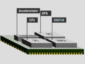 Módulo Sigfox RCZ2/RCZ4, GPS, acelerômetro - WSSFM60R2AT