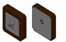 Antena GNSS  (GPS, Glonass, ...) patch ceramica passiva, 18x18mm - GNSS-PI-18X18-JS