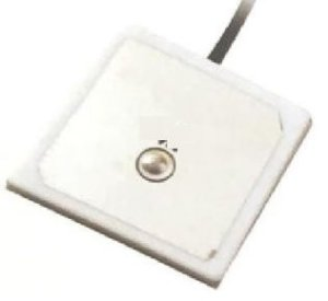Antena GNSS (GPS, Glonass, ...) patch ceramica ativa, 35x35mm cabo 100mm conector uFL - ANGNSS-IA-35-100MM-UFL-JS