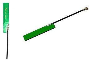 Antena GSM interna 7x37mm, cabo 100mm, conector IPEX MFH.I (u.FL) - ANGSM-I-07X37-100MM-UFL-JS