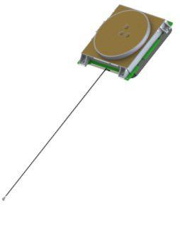 Antena GNSS L1 L2 ativa interna - M9706CWT-UFL