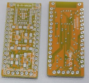 placa breakout para testes do NINA-B112  / NINA-B111 / NINA-W102 / NINA-W101