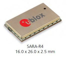 Modem NB-IoT / Cat.M1 / 2G - SARA-R412M-02B