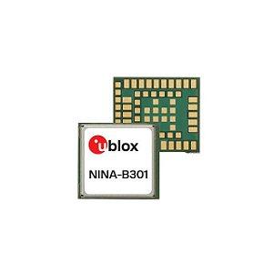 Módulo BLE 5 (Bluetooth Low Energy) e Mesh, alcance estimado 1400m, pad para antena externa - NINA-B301