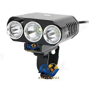 Lanterna Farol Bike Bicicleta  Cree Xml t6