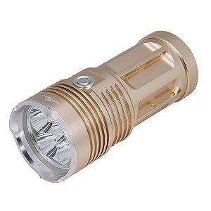Lanterna Tática Mais Forte Recarregável 6 Leds T6
