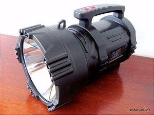Lanterna Holofote Recarregável 10 Milhões Velas