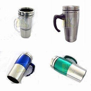 Caneca Mug Térmica De Inox 470 ml