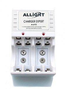 Carregador De Pilha Aa/Aaa E Bateria 9v