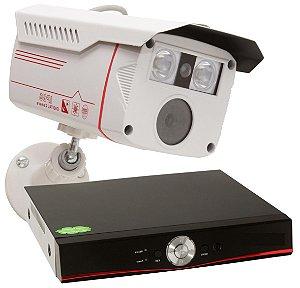 kit 4 cameras de segurança + dvr Full Hd 1080p rvnovidades