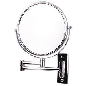 Espelho de Parede Duplo Com Aumento de 5X
