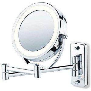 Espelho articulado com luz led