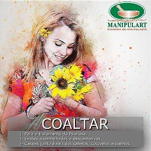COALTAR | com vaselina para o tratamento da Psoríase