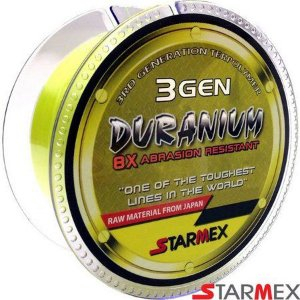Linha Monofilamento Starmex Duranium 8x 3 GEN 0,40mm 40Lbs 100m