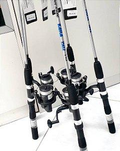 Kit Pesca - MOLINETE, VARA E LINHA