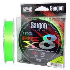 LINHA SAIGON X8 CHARTREUSE 35LBS 0,25mm 150M
