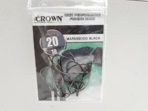 ANZOL CROWN MARUSEIGO BLACK 20 C10