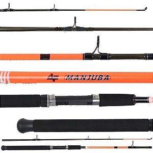 VARA PARA MOLINETE ALBATROZ FISHING MANJUBA (1,80M) 10-20LBS - 2 PARTES