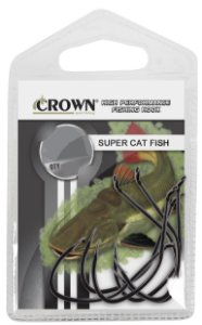 ANZOL CROWN SUPER CATFISH BLACK N.2 C5