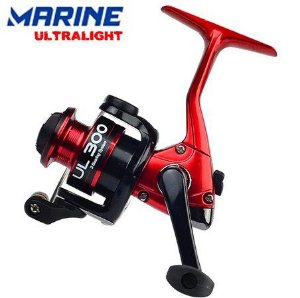 Molinete Marine Sports Ultra Light Red & Black