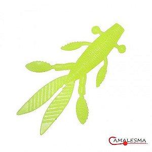 Isca Soft Camalesma Alien Bug Cor Limão 11cm