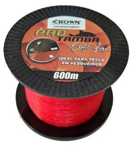LINHA PRO TAMBA SOFT ORANGE 0,33MM 600MTR