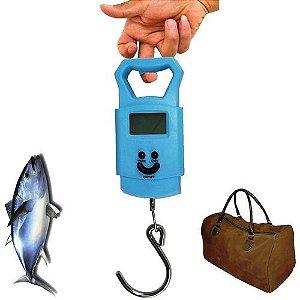 Balança Digital De Bagagem Mala Viagem Pesca 50 Kg