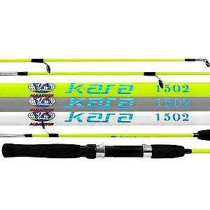 Vara Pesca Kara 1502 para Molinete 1,50 m 8-16 lb Albatroz (Cores Sortidas)