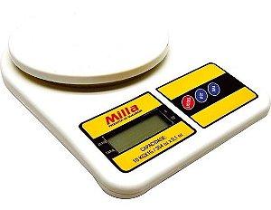 Balança Eetrônica de Cozinha Milla até 10Kg.