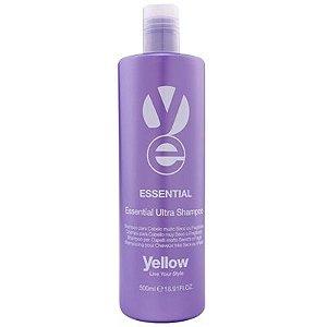 Shampoo Yellow Essential Ultra Shampoo Cabelos Muito Seco ou Fragilizado