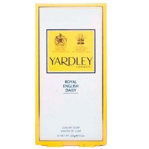 Kit de Sabonetes Ingleses Royal English Daisy Yardley of London