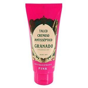 Talco Cremoso Antisséptico Pink Granado