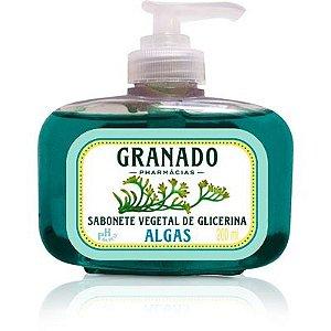 Sabonete Líquido Vegetal de Glicerina Algas Granado