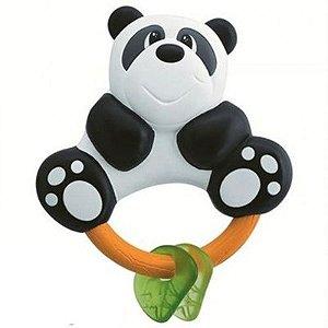 Chocalho Mordedor Urso Panda Chicco 3 Meses +