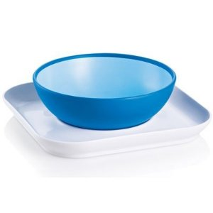 Papeiro e Prato Baby's Bowl & Plate MAM