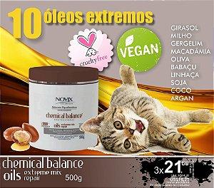 MASCARA NUTRITIVA 10 OLEOS EXTREMOS - VEGAN